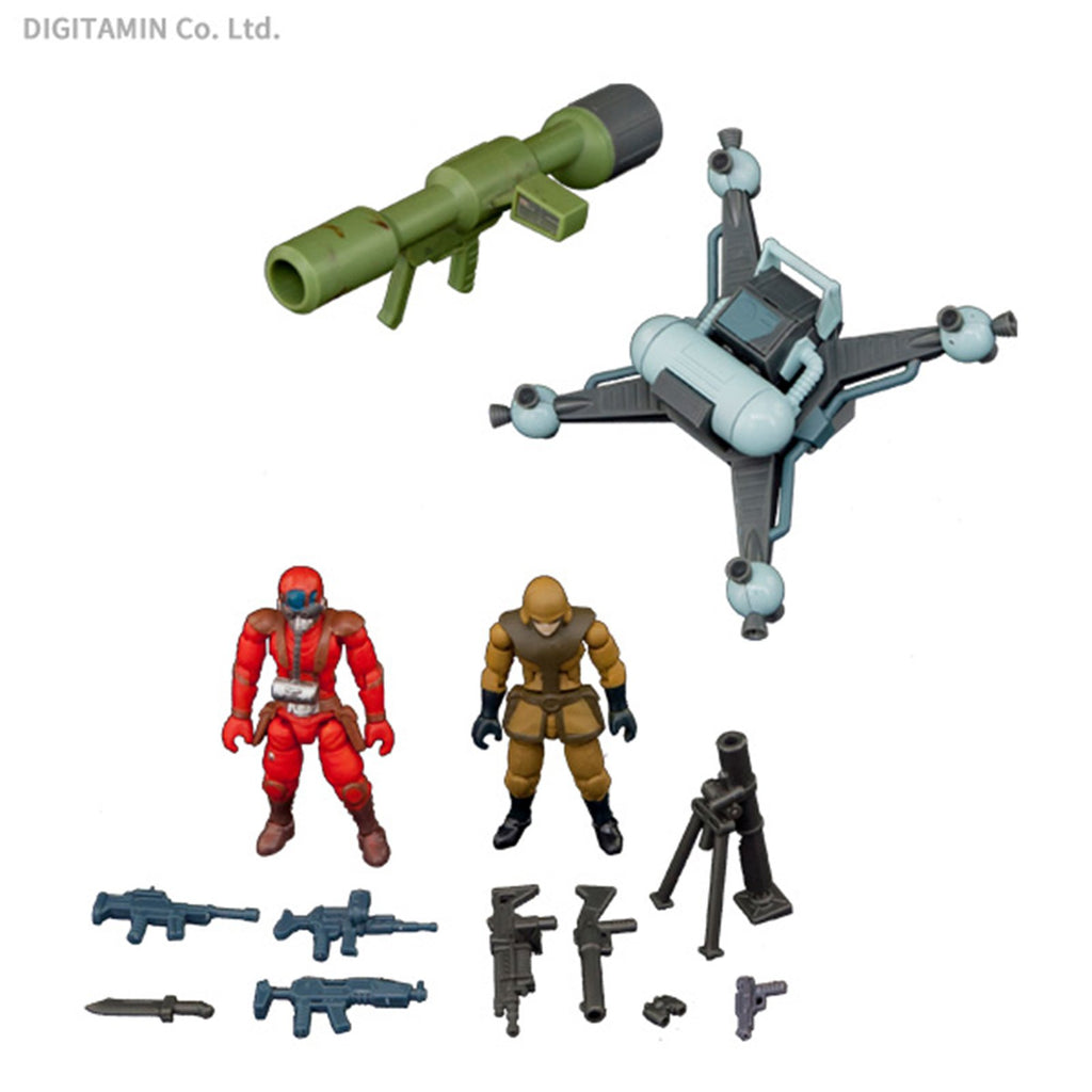Action Figures - Toynami B2Five Round Mover ATC-BRI-S Expansion Pack Set