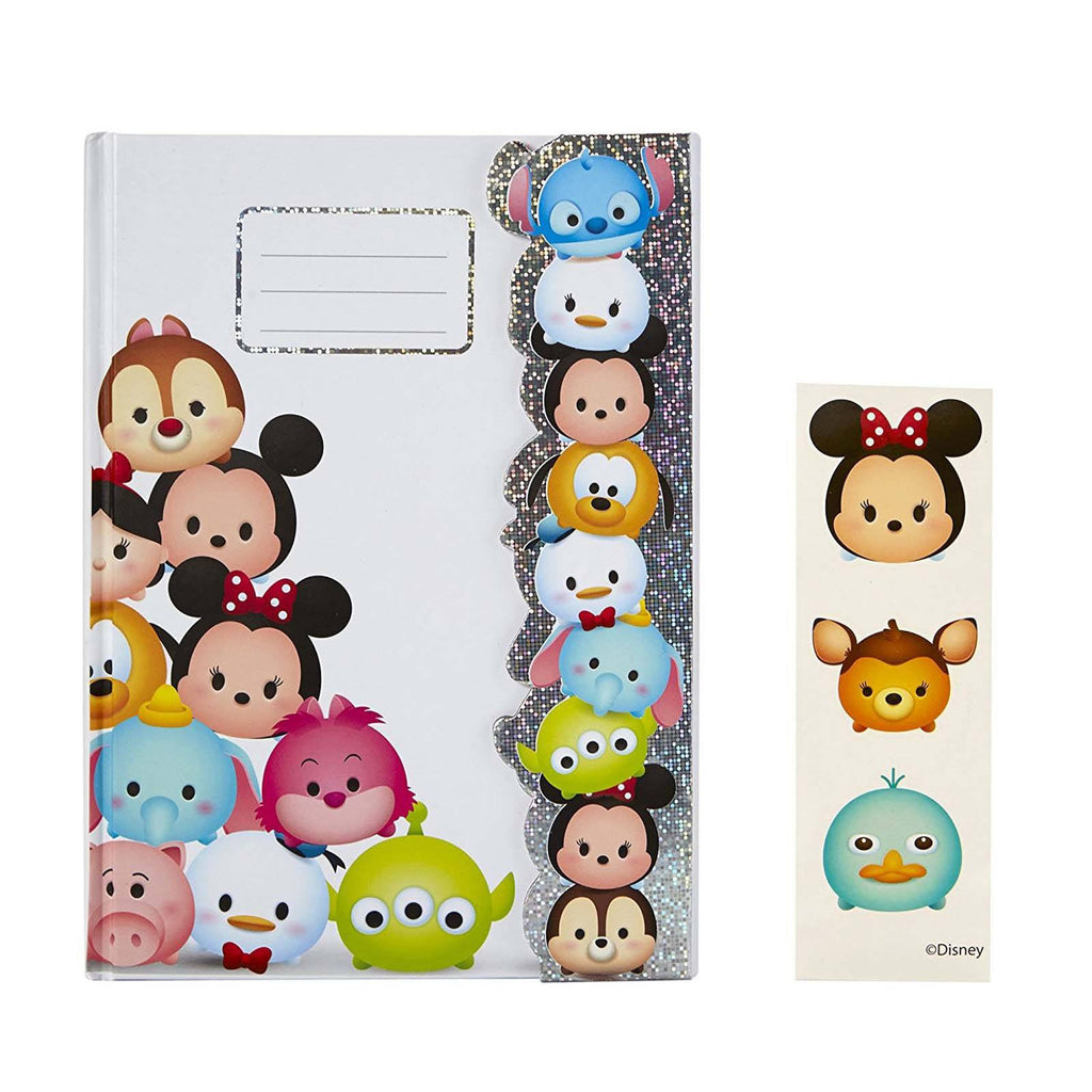 Tsum Tsum Disney Journal With Stickers