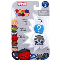 Action Figures - Tsum Tsum Marvel Series 3 White Tiger Mystery Rocket 3 Figure Set