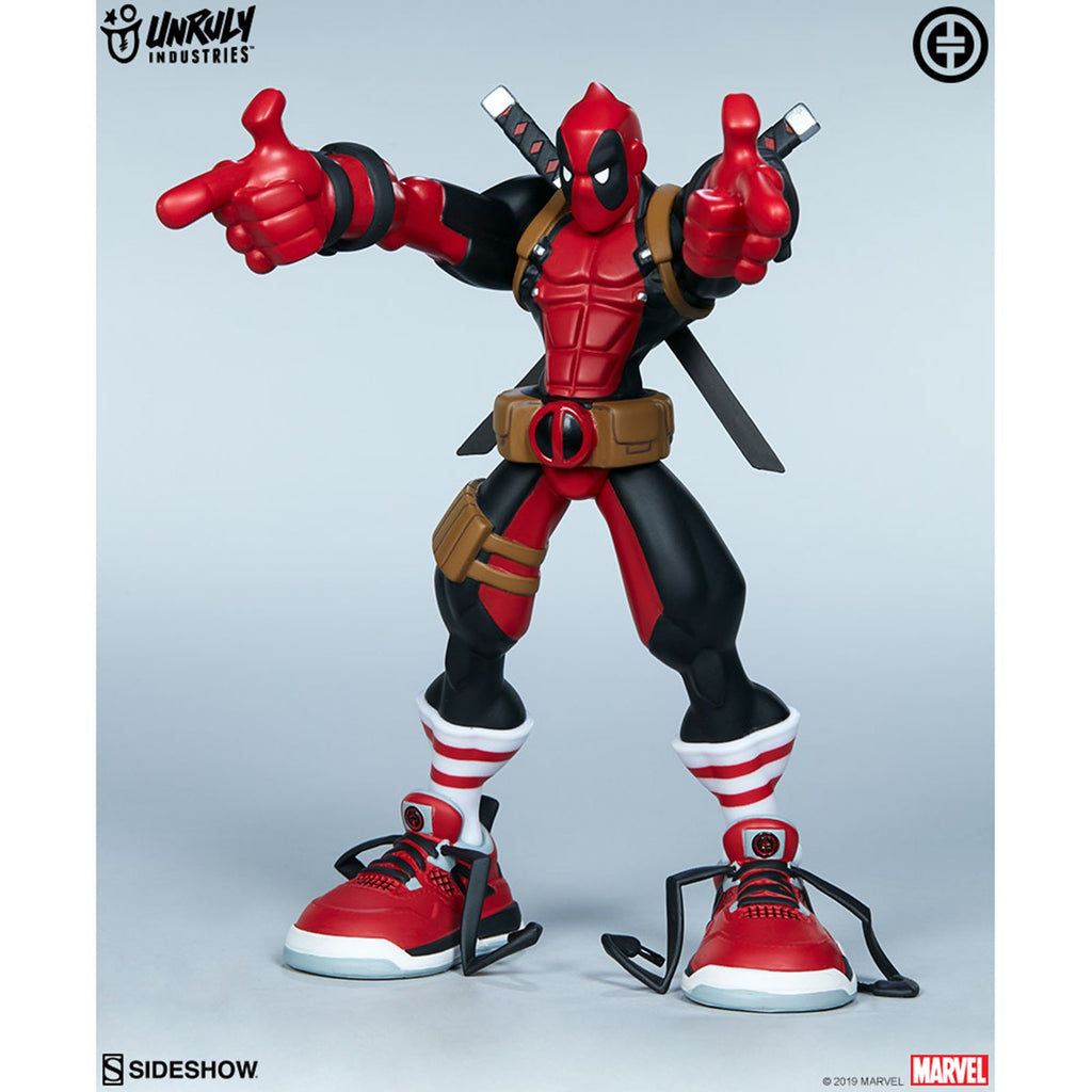 Unruly Industries Marvel Deadpool Wade Designer Statue