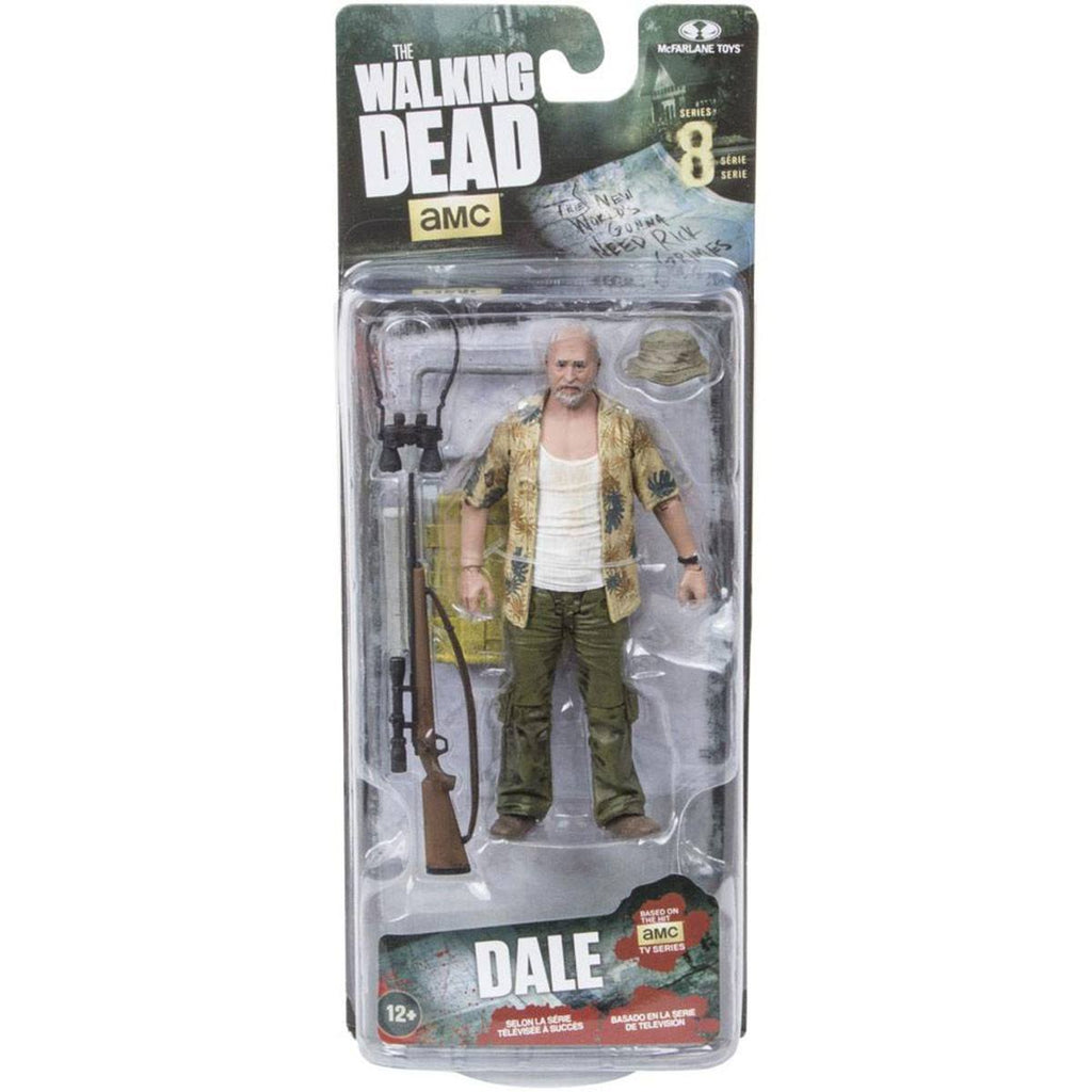 Walking Dead Series 8 Dale Horvath Action Figure - Radar Toys