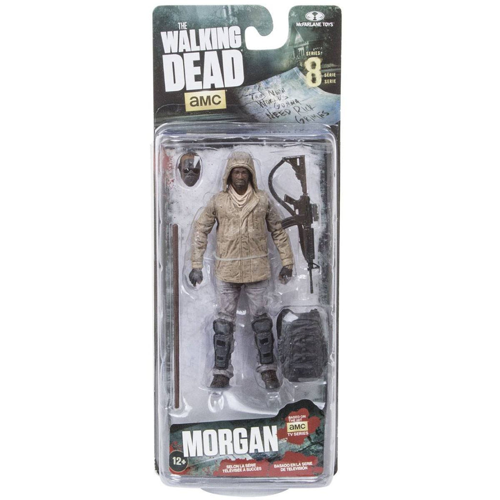 Walking Dead Series 8 Morgan Jones Action Figure - Radar Toys