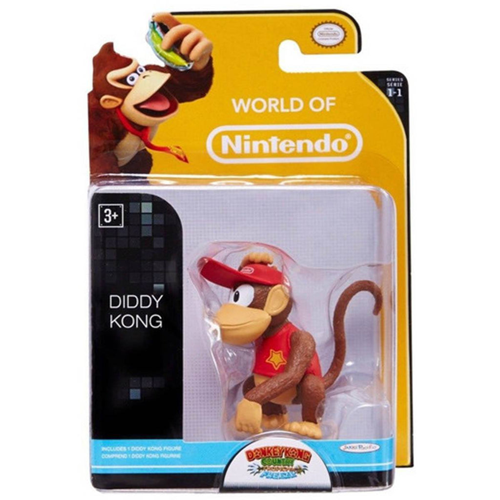 World of Nintendo Diddy Kong Action Figure
