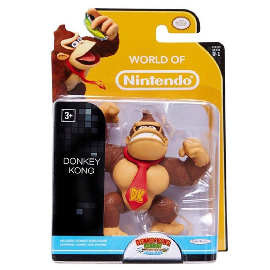World of Nintendo Donkey Kong Action Figure