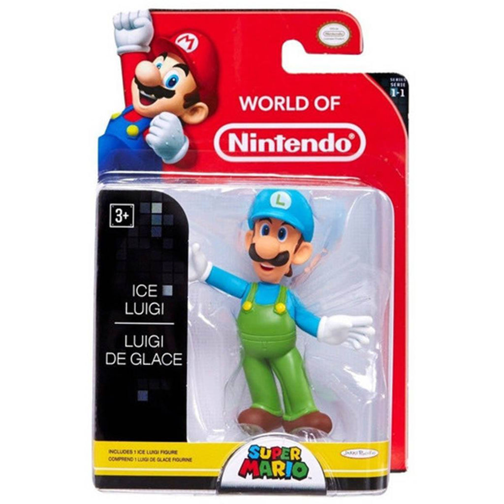 World of Nintendo Ice Luigi  Action Figure