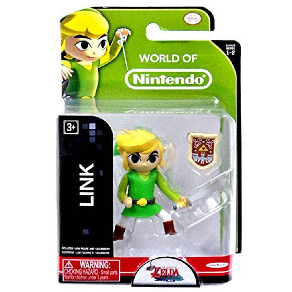 World of Nintendo Zelda Link Action Figure - Radar Toys