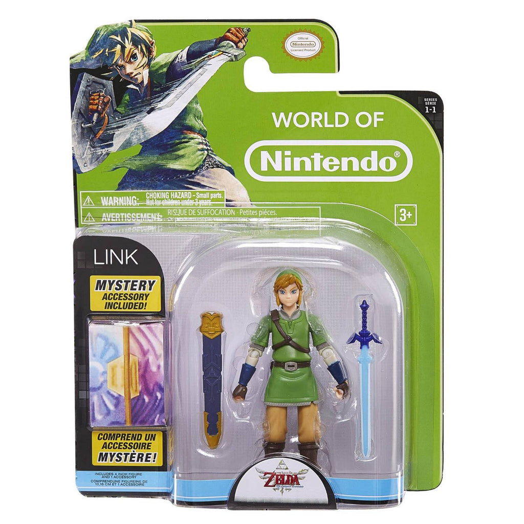 World of Nintendo Zelda Skyword Sword Link Action Figure