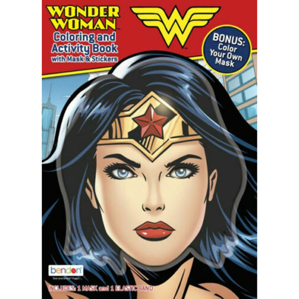 Bendon Wonder Woman Coloring And Activity Book