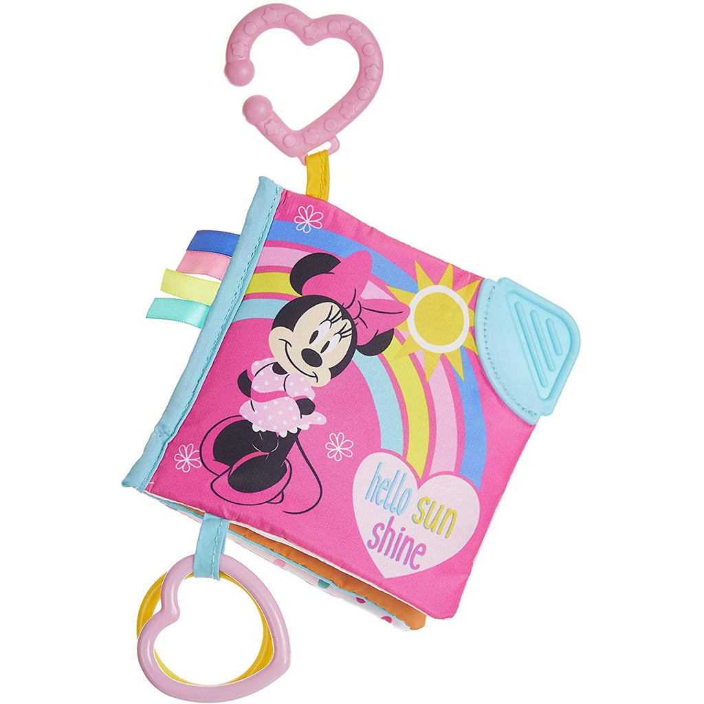 Activity Book - Disney Baby Minnie Mouse Activity Book And Teether