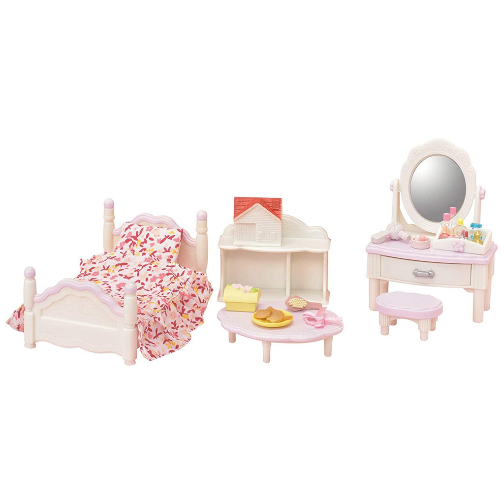 Animal Figure - Calico Critters Bedroom And Vanity Furniture Set
