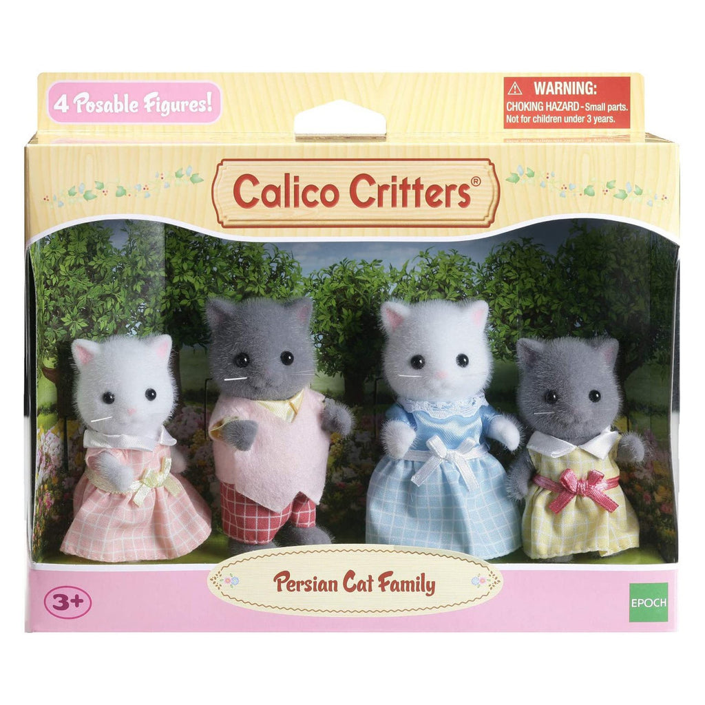 Animal Figure - Calico Critters Persian Cat Family Set CC1865
