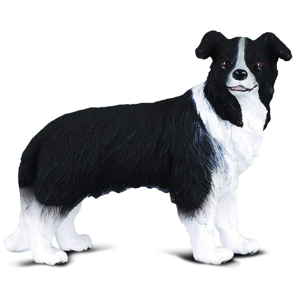 Animal Figure - CollectA Border Collie Dog Animal Figure 88010