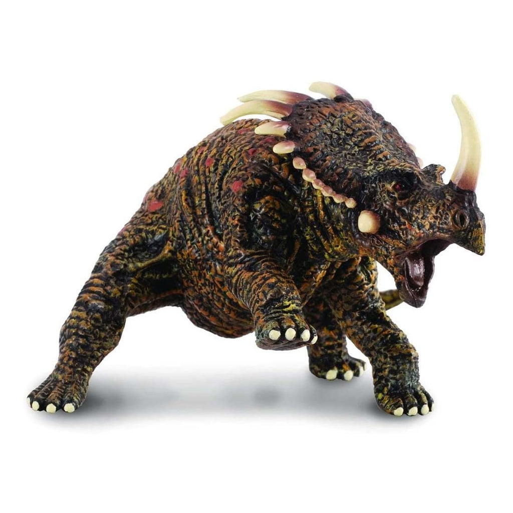 Animal Figure - CollectA Styracosaurus Brown Dinosaur Figure 88147