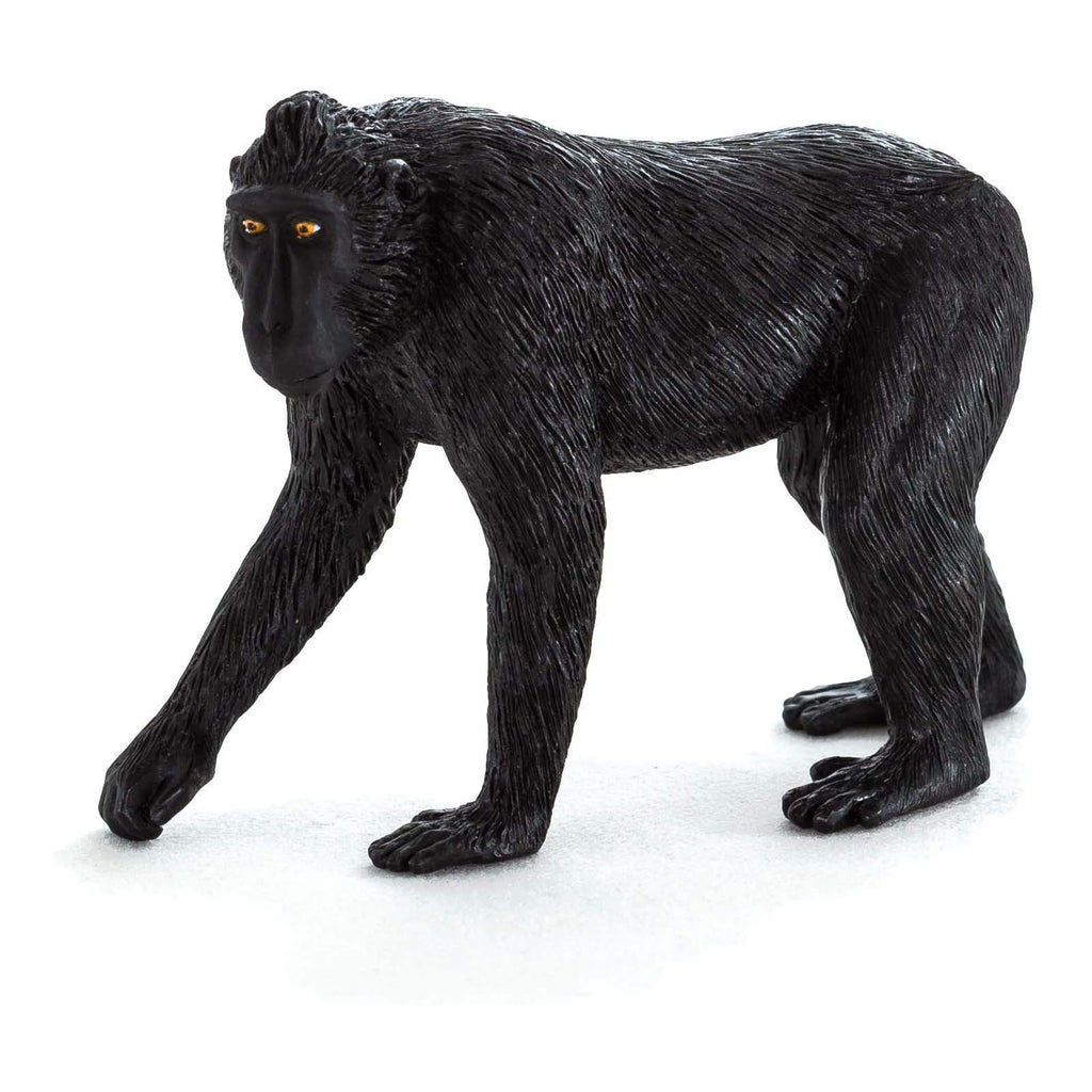 MOJO Black Crested Macaque Animal Figure 387182