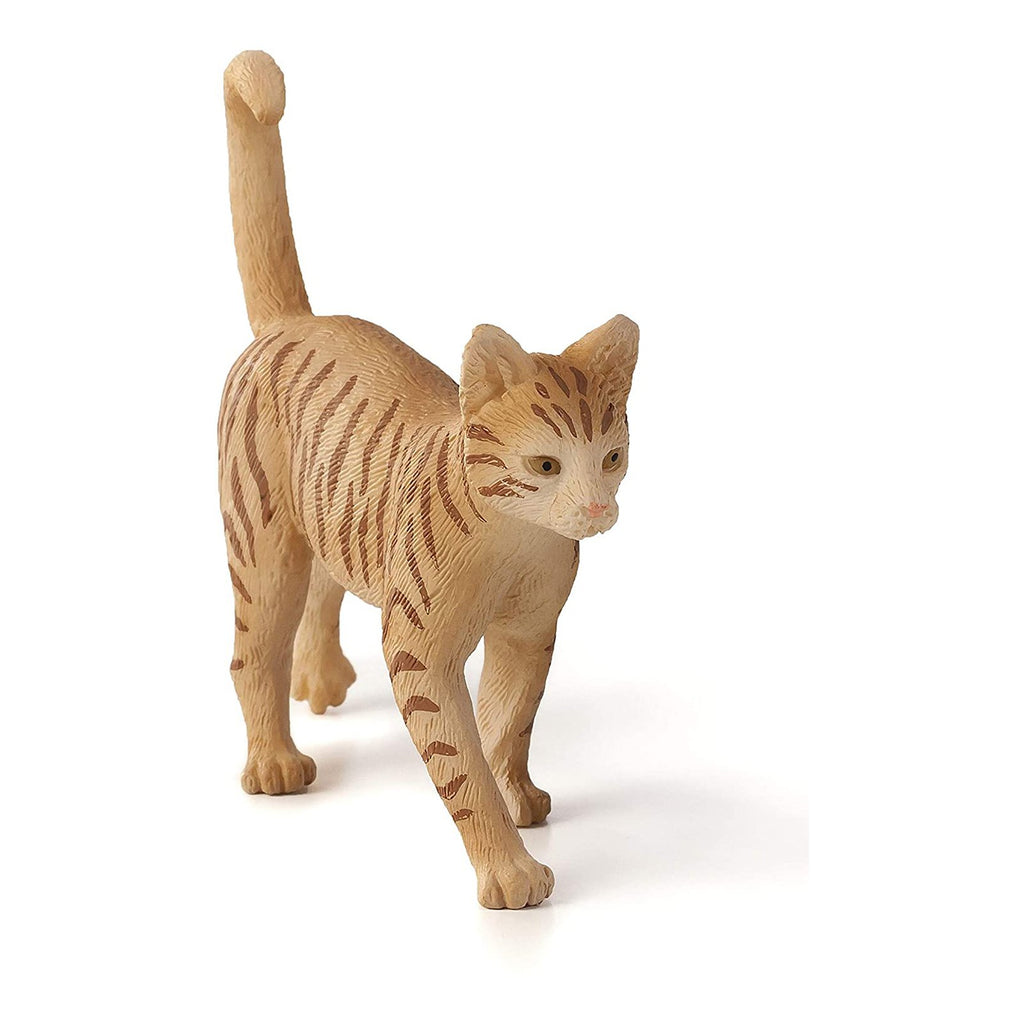 Animal Figures - MOJO Cat Ginger Tabby Animal Figure 387283
