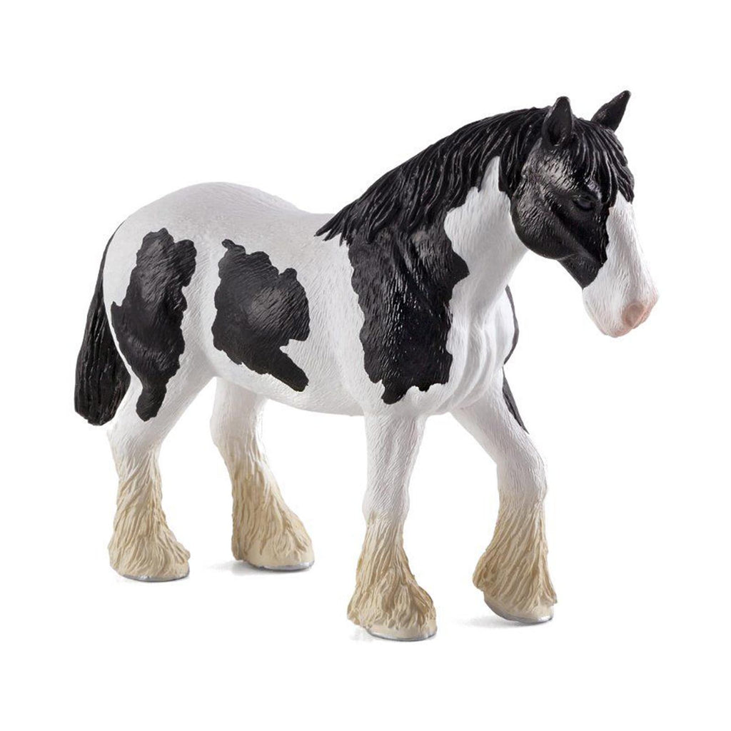 MOJO Clydesdale Horse Black And White Animal Figure 387085