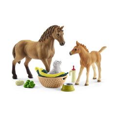Animal Figures - Schleich Horse Club Sarah's Baby Animal Care Set