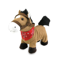 Animal Plush Toys - Cuddle Barn Gallop 8 Inch Musical Plush Figure