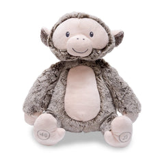 Animal Plush Toys - Cuddle Barn Peaceful Jungle Monkey 9 Inch Plush Figure
