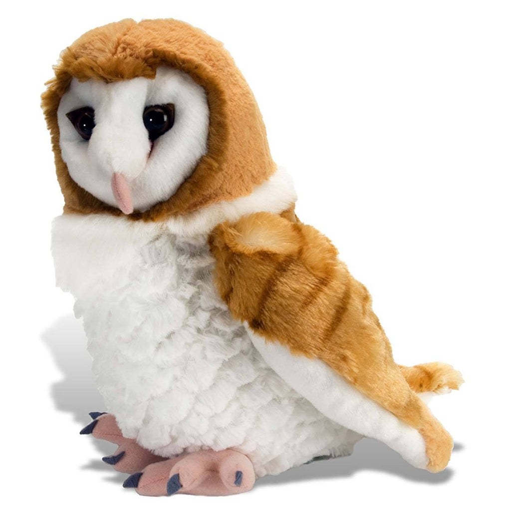 Animal Plush Toys - Cuddlekins Barn Owl 12 Inch Animal Plush Figure
