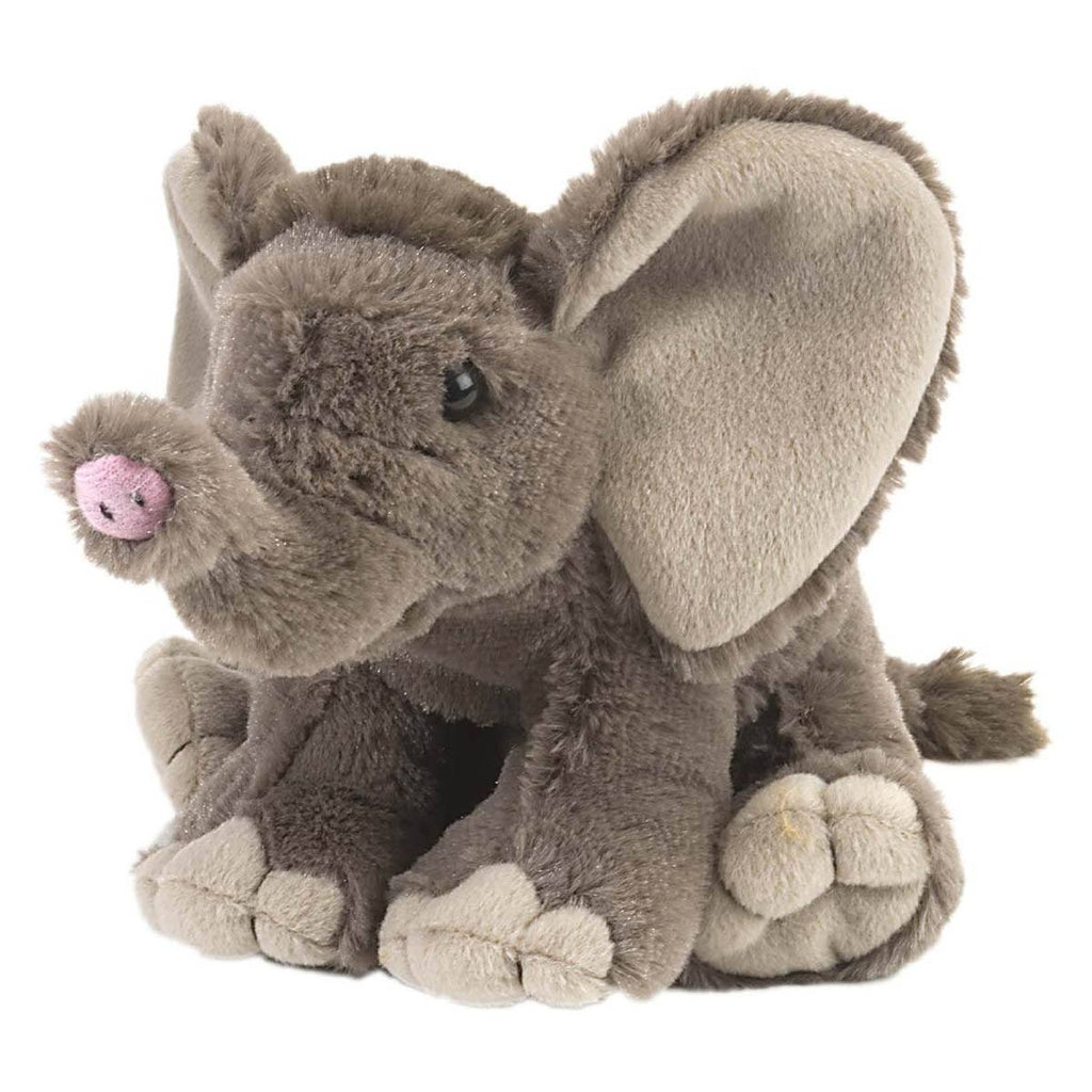 Cuddlekins Mini African Baby Elephant 8 Inch Stuffed Animal - Radar Toys