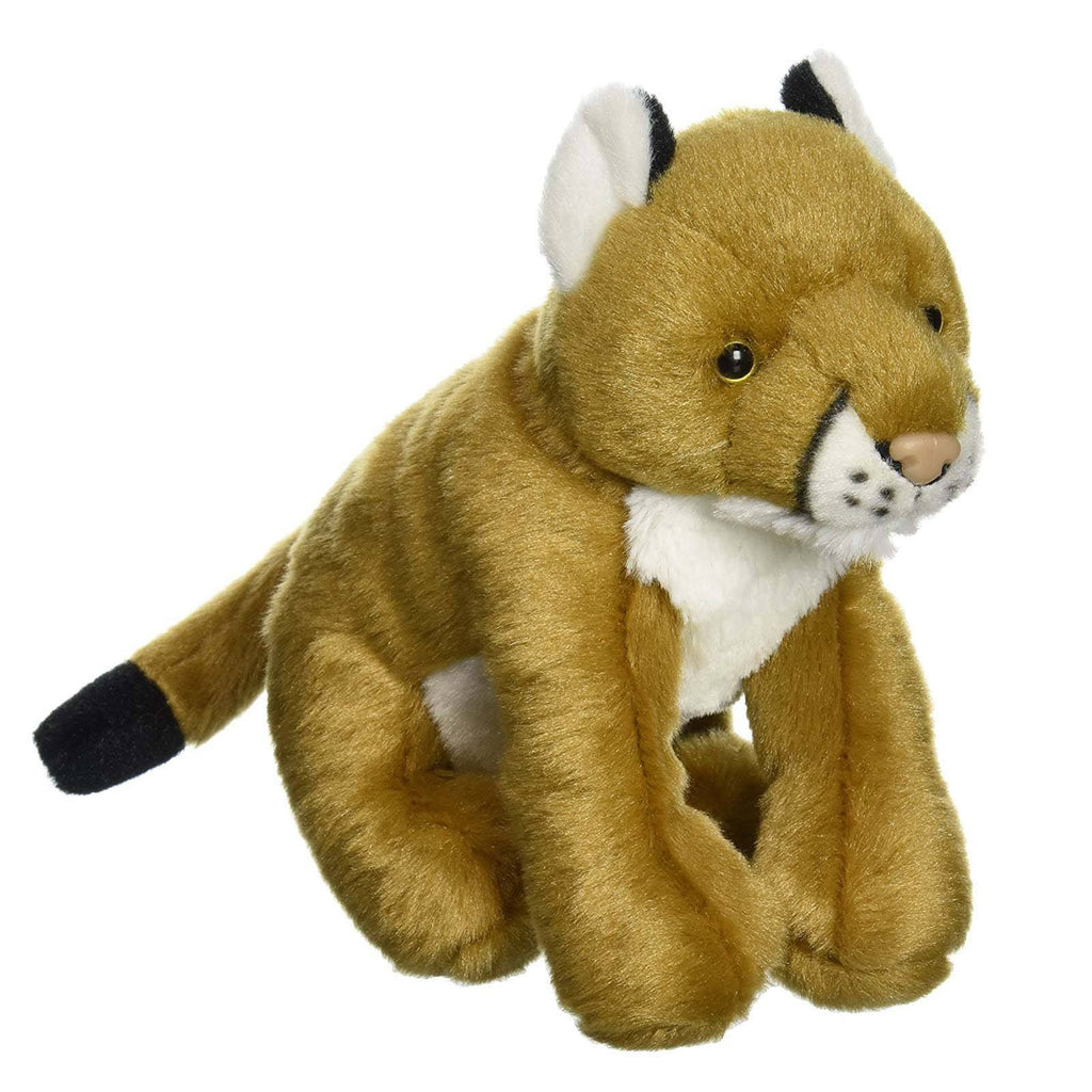 Animal Plush Toys - Cuddlekins Mini Mountain Lion 8 Inch Animal Plush Figure