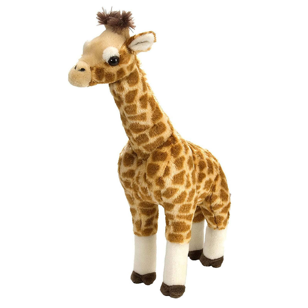 Animal Plush Toys - Cuddlekins Standing Giraffe 12 Inch Animal Plush Figure