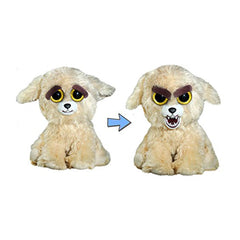 Animal Plush Toys - Feisty Pets Lunatic Lexi Goldendoodle Dog Growling Plush Figure