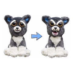 Animal Plush Toys - Feisty Pets Sammy Suckerpunch Dog Plush Figure
