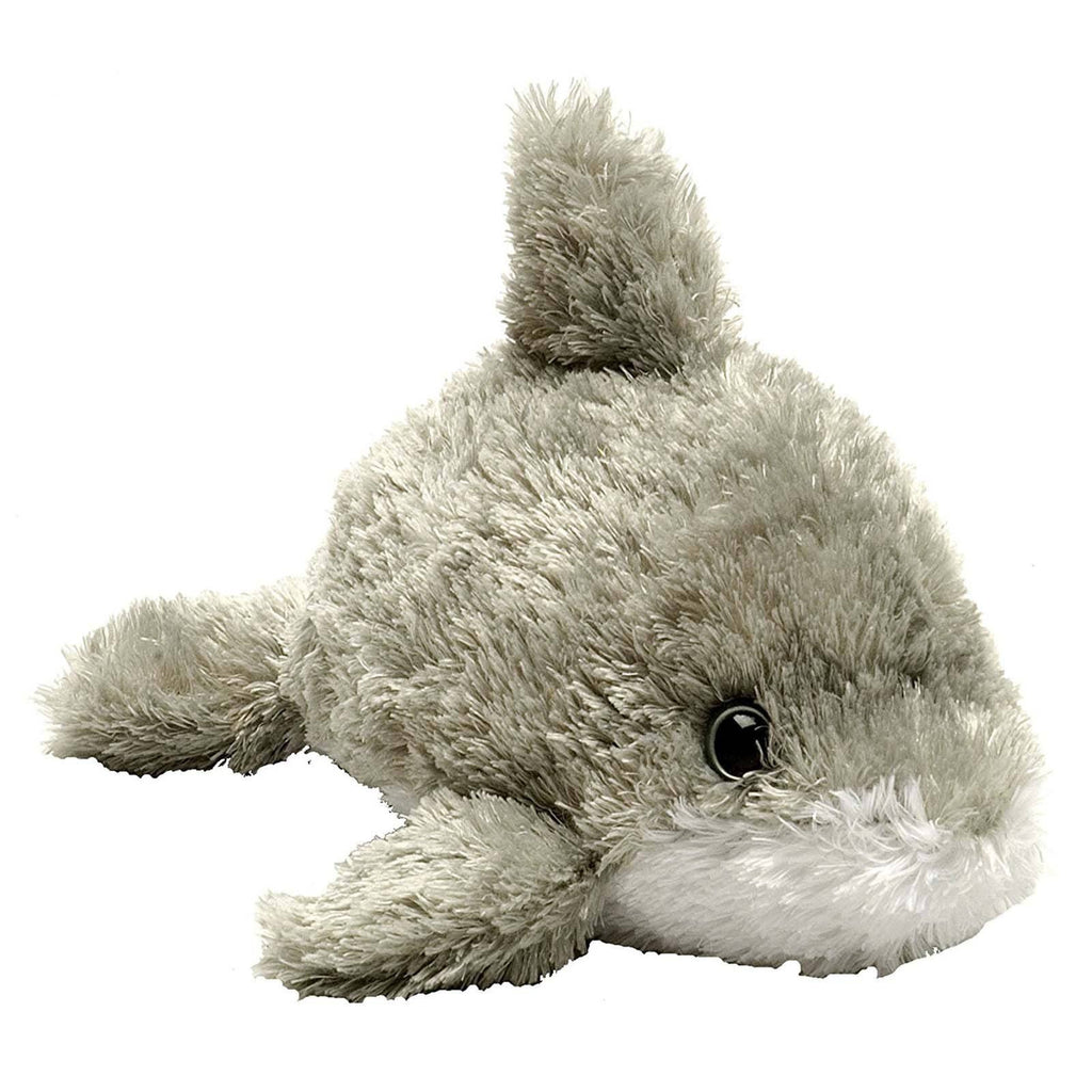 Animal Plush Toys - Hug'ems Mini Dolphin 7 Inch Animal Plush Figure