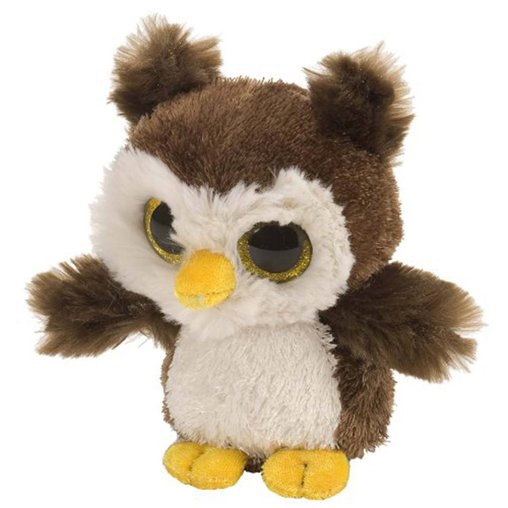 Animal Plush Toys - Li'l Sweet And Sassy Owl Root Beer 5 Inch Animal Plush Figure
