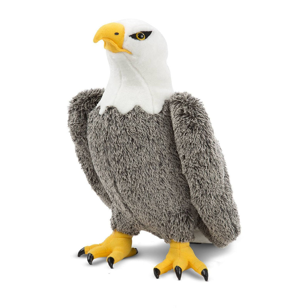 Melissa And Doug Large Bald Eagle 18 Inch Plush Figure