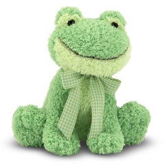 Animal Plush Toys - Melissa And Doug Meadow Medley Froggy 7 Inch Plush Figure