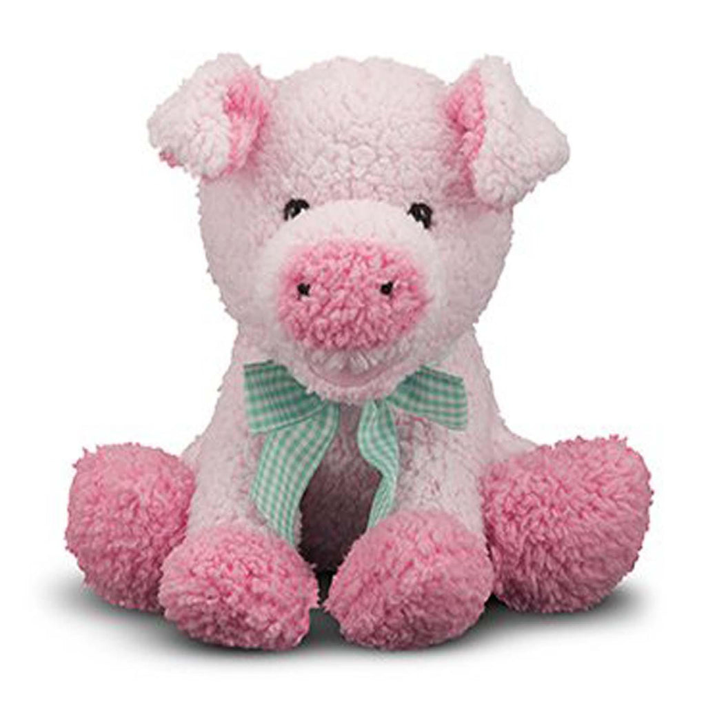 Melissa And Doug Meadow Medley Piggy 7 Inch Plush Figure