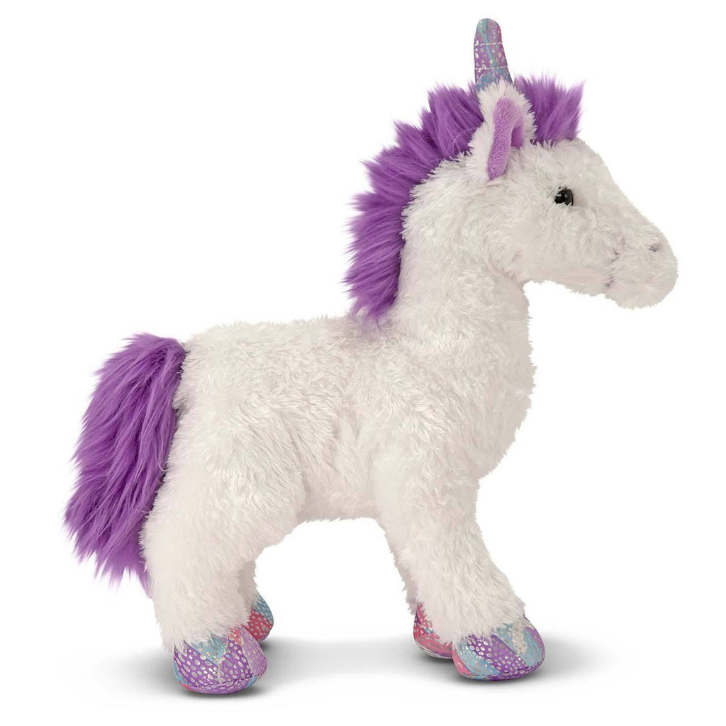 Melissa And Doug Misty Unicorn 8 Inch Plush Figure