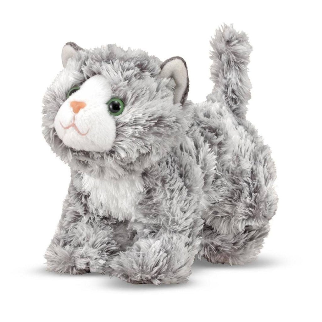 Melissa And Doug Roxie Grey Tabby 6 Inch Plush Figure
