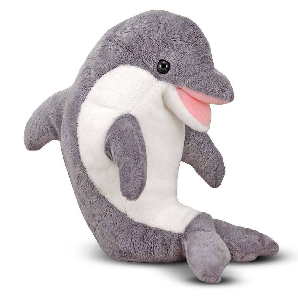 Melissa And Doug Skimmer Dolphin 12 Inch Plush Figure