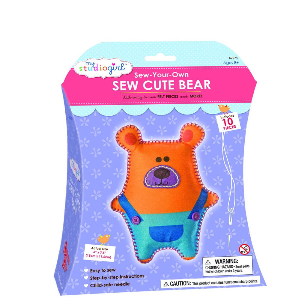My Studio Girl Bear Cute Sew Set