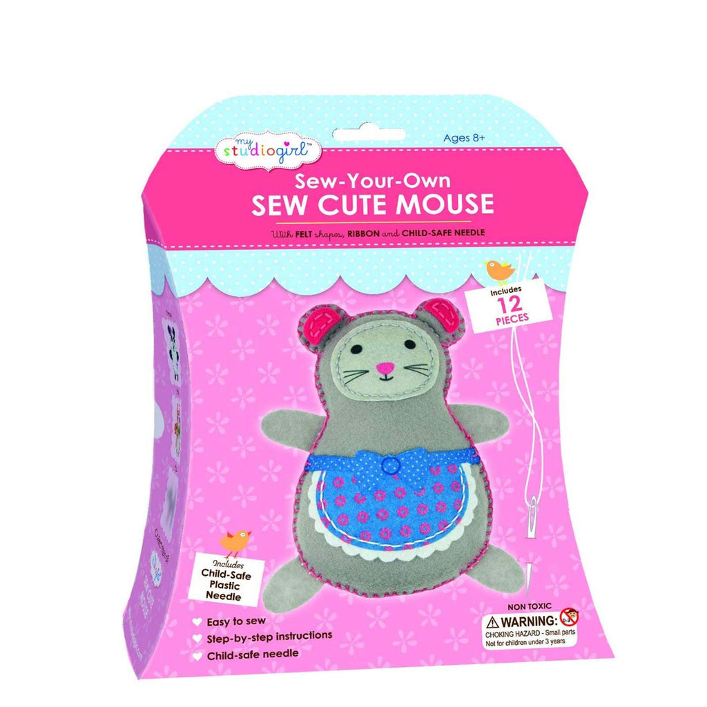 My Studio Girl Mouse Cute Sew Set