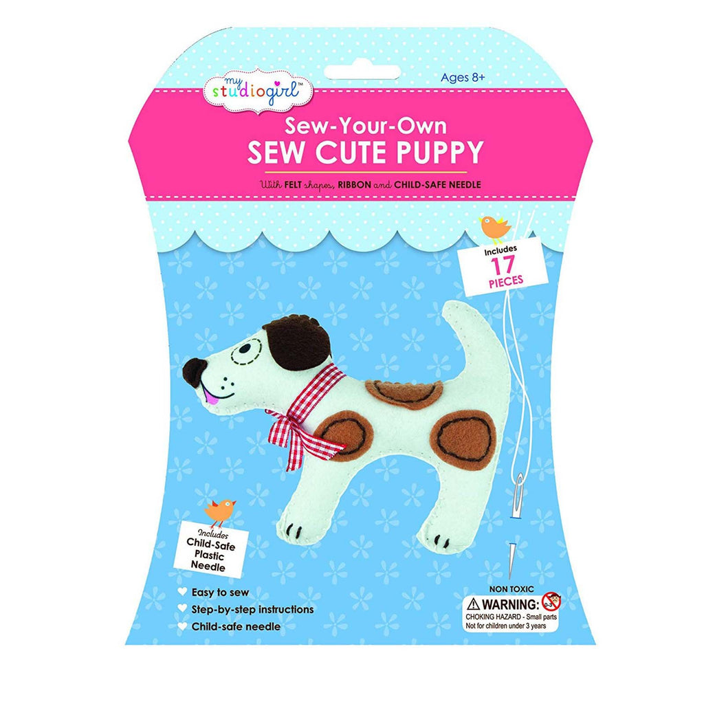 My Studio Girl Puppy Cute Sew Set