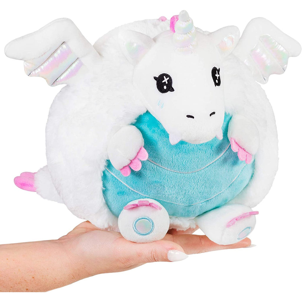 Animal Plush Toys - Squishable Mini Crystal Dragon 7 Inch Plush Figure