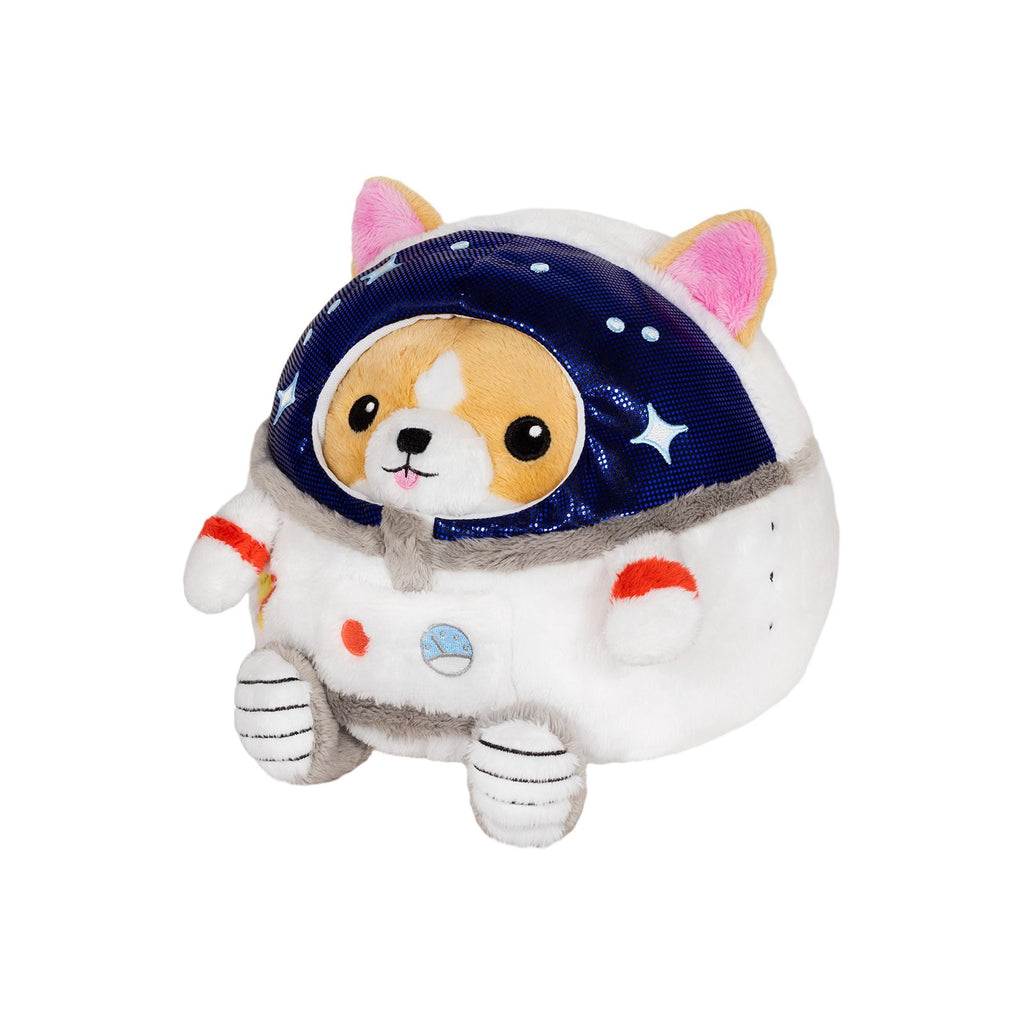 Animal Plush Toys - Squishable Undercover Corgi In Astronaut Suit 7 Inch Plush Figure