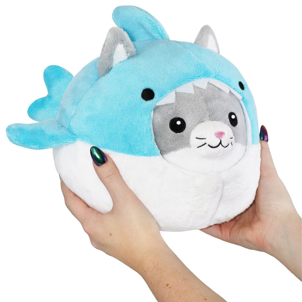 Animal Plush Toys - Squishable Undercover Kitty In Shark Suit 7 Inch Plush Figure