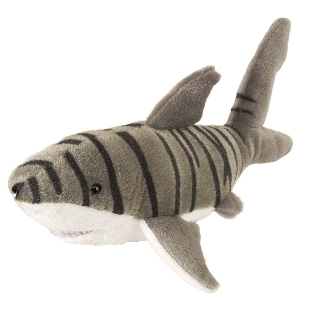 Animal Plush Toys - Wild Republic Cuddlekin Mini Shark 10 Inch Animal Plush