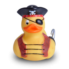 Animal Plush Toys - Wild Republic Pirate Rubber Duck