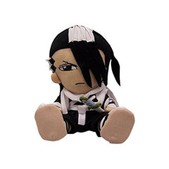 Anime Plush Figures - Bleach Byakuya Sitting 7 Inch Plush Figure