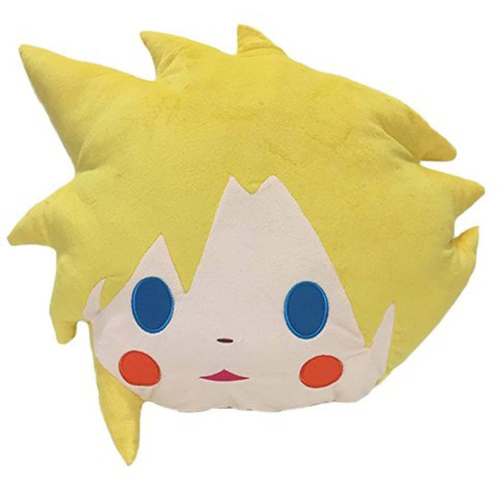 Final Fantasy Cloud Face 16 Inch Plush Cushion
