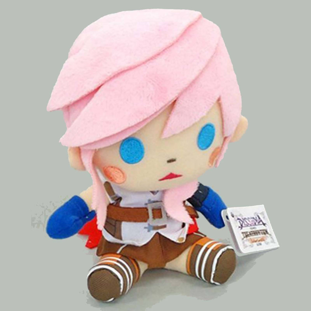 Final Fantasy Dissidia All Stars Lightning Plush Figure - Radar Toys