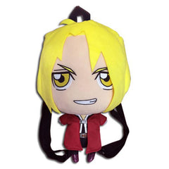 Anime Plush Figures - Fullmetal Alchemist Edward Plush 12.5 Inch Plush Back Accessory
