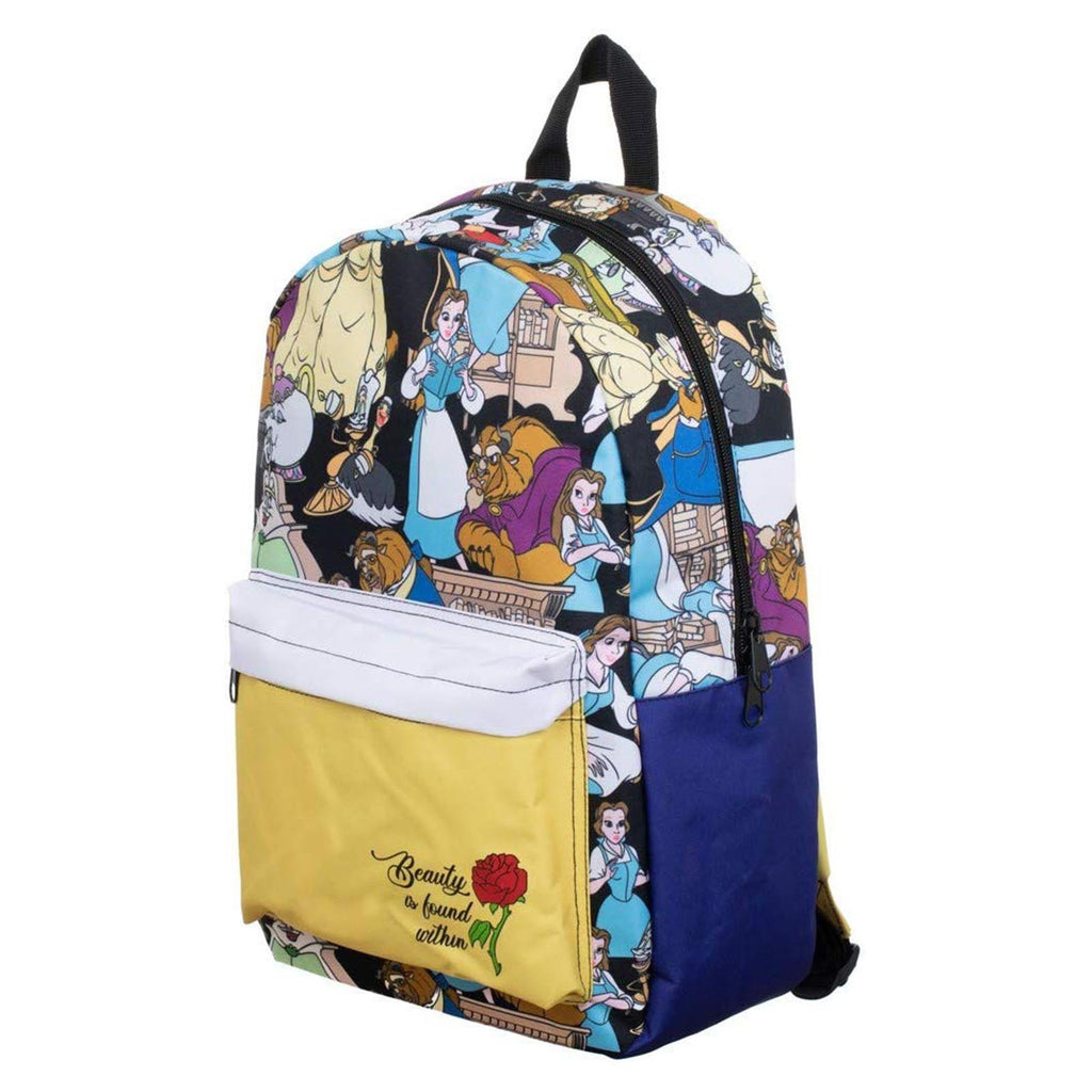 Disney Beauty And The Beast Sublimated Backpack
